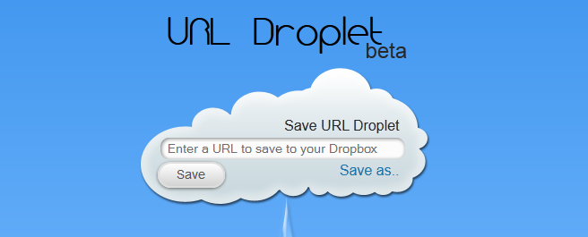 Envoyez des fichiers sur votre Dropbox à partir de son URL