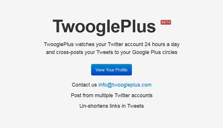TwooglePlus