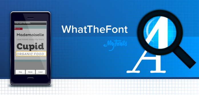 Logo de l'application Android : WhatTheFont